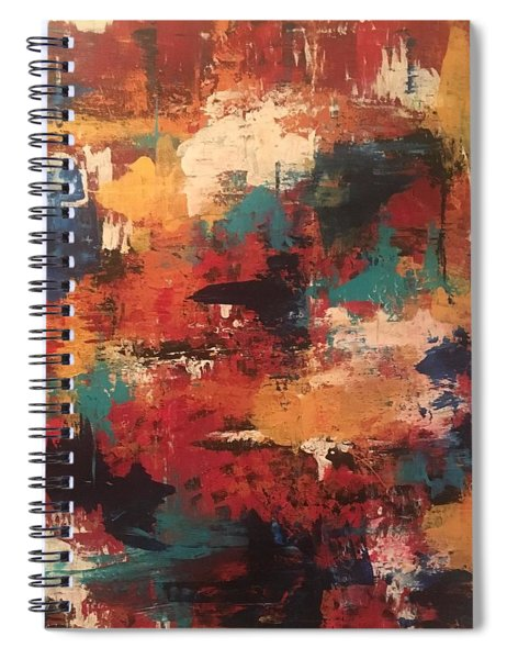 Playing With Color Spiral Notebook