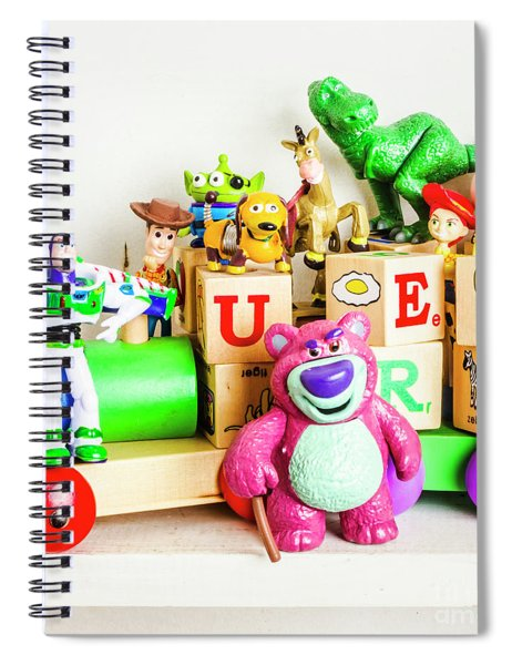 Playtime Story Spiral Notebook