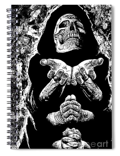 Pleading With The End Spiral Notebook