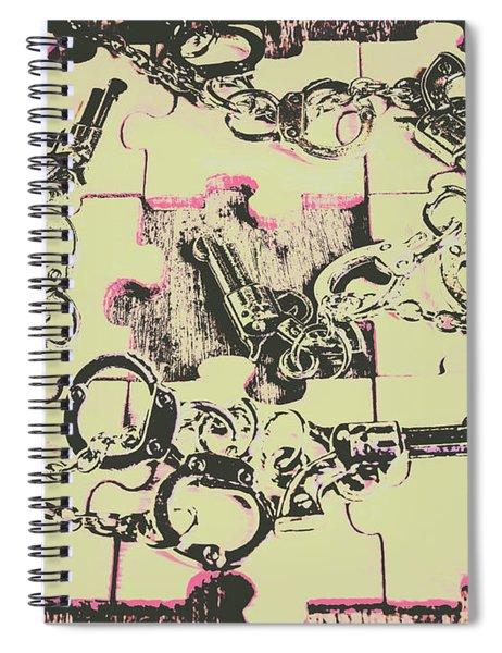 Plot Holes Spiral Notebook