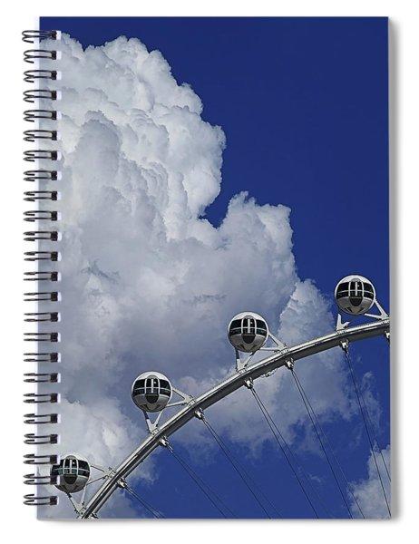 Pod Cluster 2 Spiral Notebook by Skip Hunt