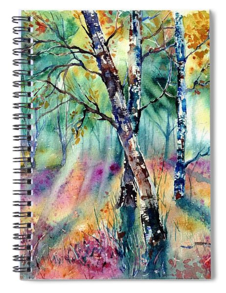Poetry Of Summer Spiral Notebook