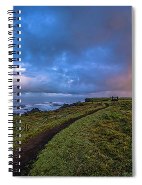 Point Cabrillo Light Station Panorama Spiral Notebook