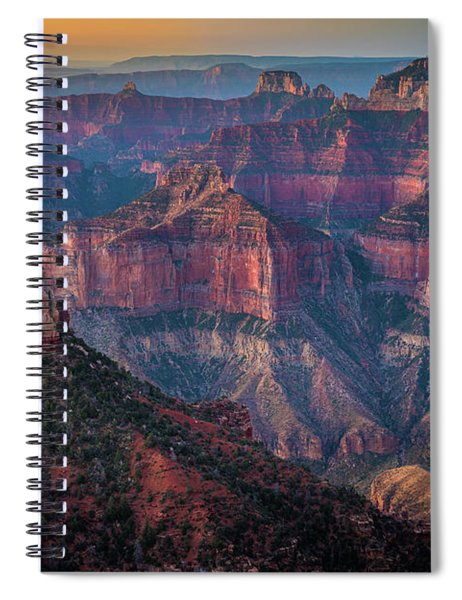 Point Imperial Glow Spiral Notebook
