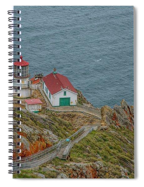 Point Reyes Lighthouse Spiral Notebook
