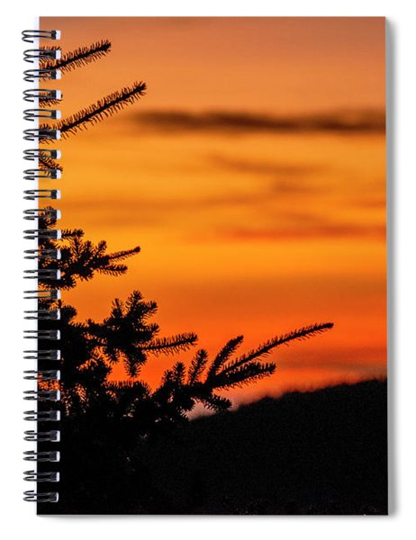 Pointing To Dawn Spiral Notebook