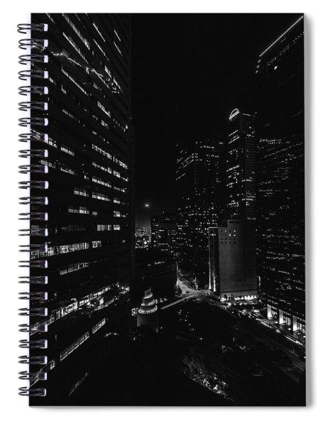 Points Of Light Spiral Notebook
