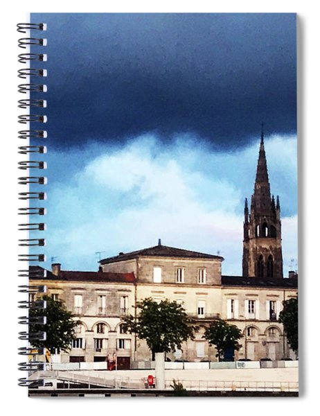 Poking The Storm Spiral Notebook