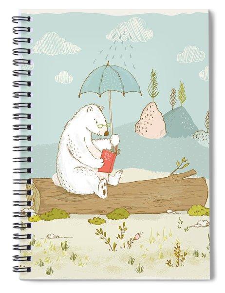 Polar Bear Vacation I Spiral Notebook