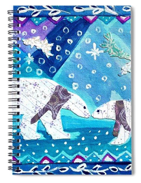 Polar Bears Spiral Notebook