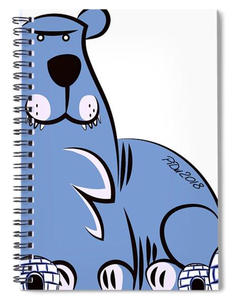 Polar King Spiral Notebook