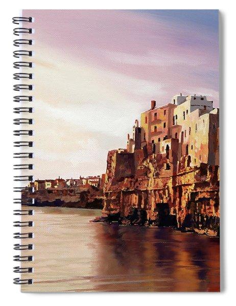 Polignano Spiral Notebook