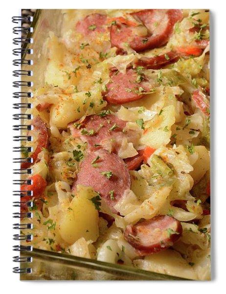 Polish Kielbasa Cuisine 3 Spiral Notebook