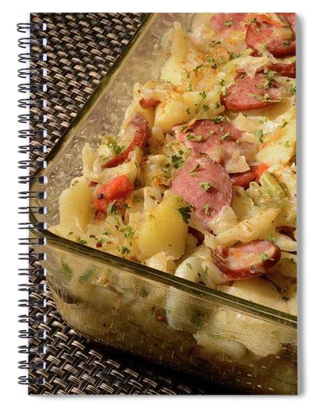 Polish Kielbasa Cuisine 4 Spiral Notebook