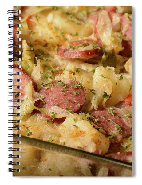 Polish Kielbasa Cuisine Spiral Notebook