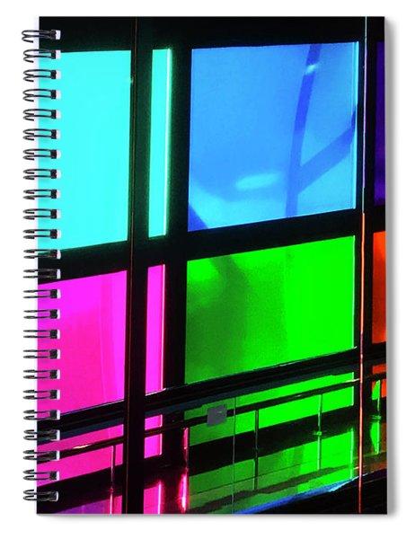Polychrome Passageway Spiral Notebook by Rick Locke