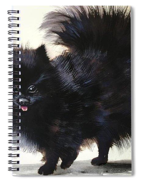 Pomeranian Dog 6 Spiral Notebook