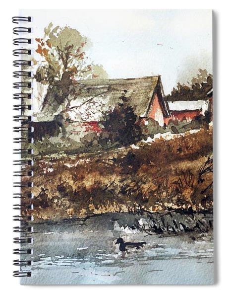 Pond Ducks Spiral Notebook