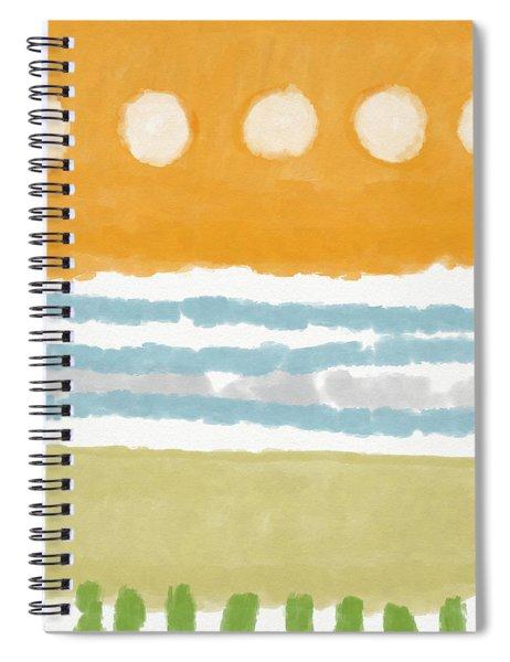 Poolside 2- Art By Linda Woods Spiral Notebook