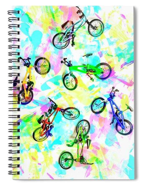 Pop Art Circuit Spiral Notebook
