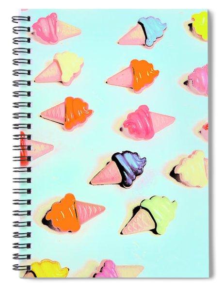 Pop Art Parlour Spiral Notebook