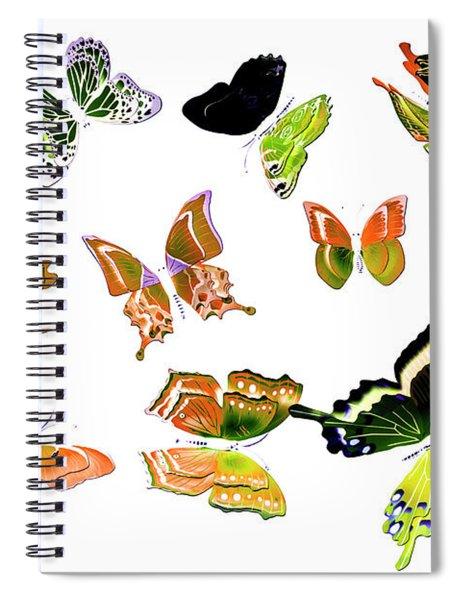 Pop Art Tropics Spiral Notebook