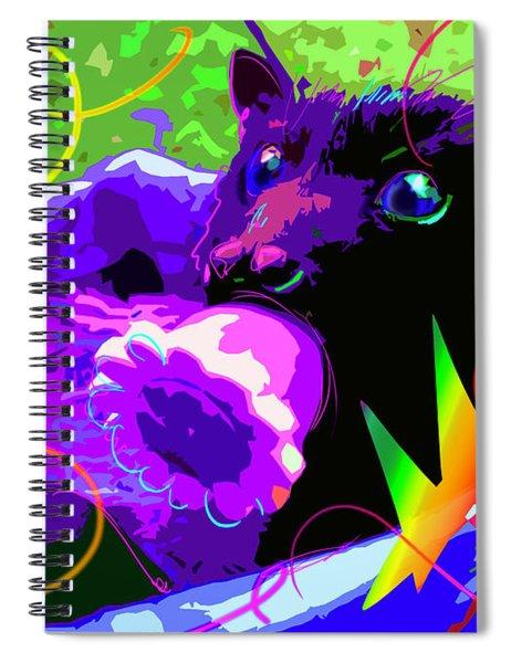 pOp Baby Bat Spiral Notebook