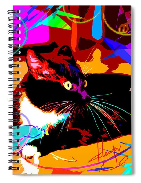 pOp Cat and Mouse Spiral Notebook