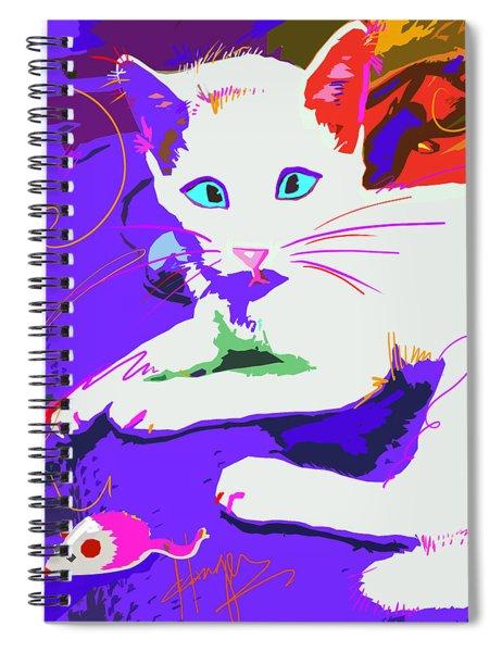 Pop Cat Cat Stevens Spiral Notebook