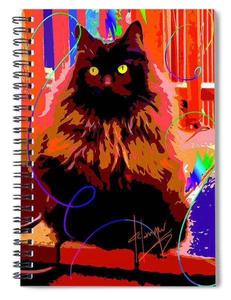 Pop Cat Delilah Spiral Notebook