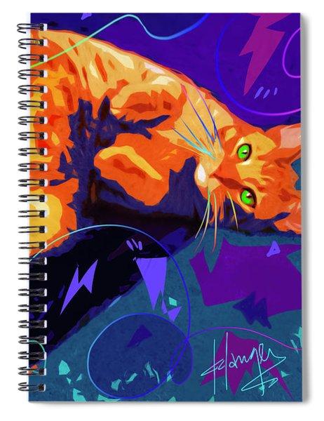 Pop Cat Miles Spiral Notebook