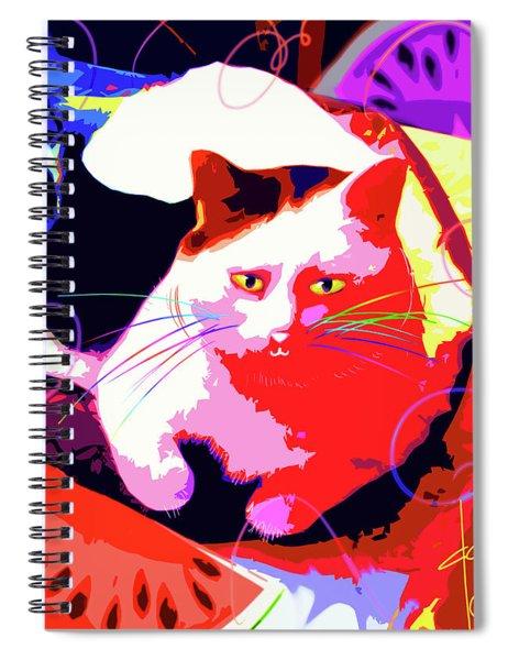 Pop Cat Toby Spiral Notebook