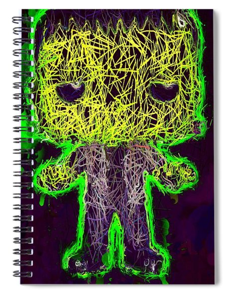 Frankenstein Pop 2 Spiral Notebook
