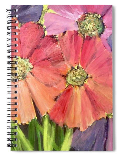 Pop Of Spring  Spiral Notebook