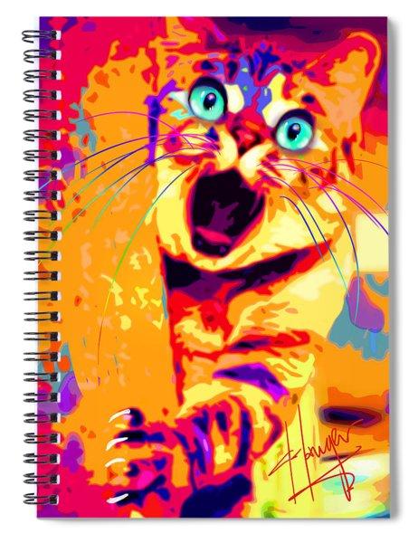 pOpCa PeekaBoots Spiral Notebook