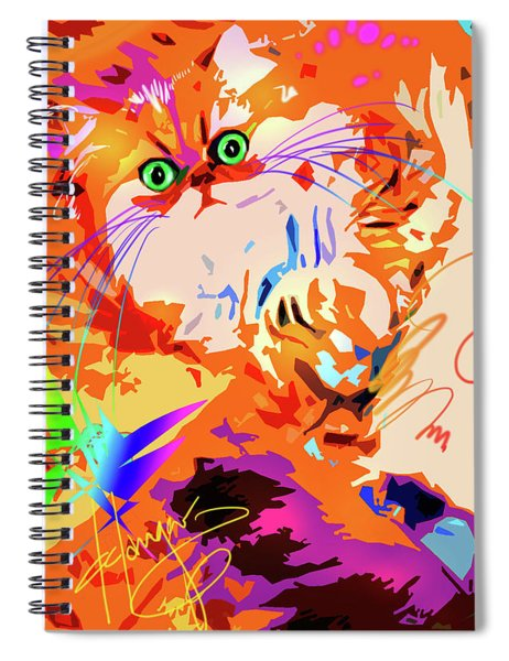 pOpCat Abby Spiral Notebook