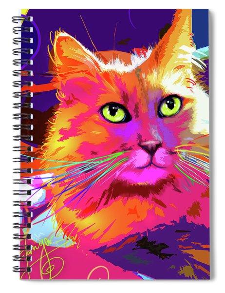 pOpCat BabyCat Spiral Notebook