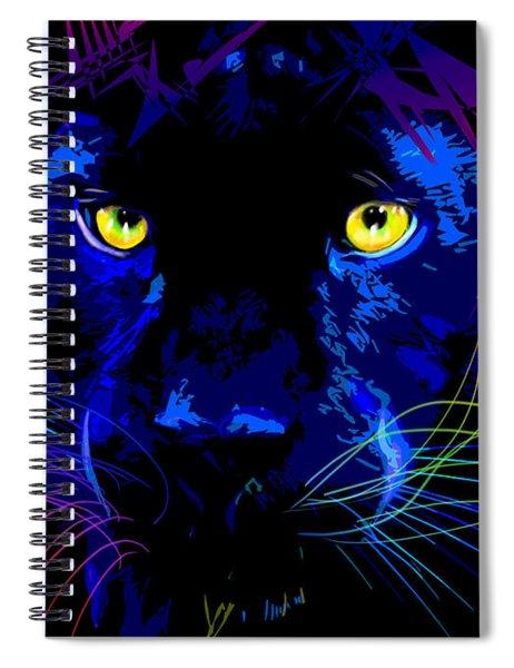 pOpCat Black Panther Spiral Notebook