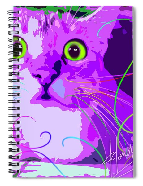 pOpCat Crazy Harry Spiral Notebook
