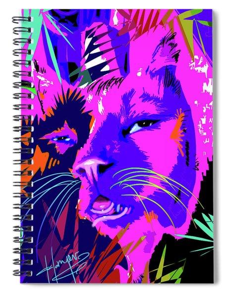 pOpCat Huey, too much catnip Spiral Notebook