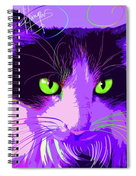 pOpCat Lacy Spiral Notebook