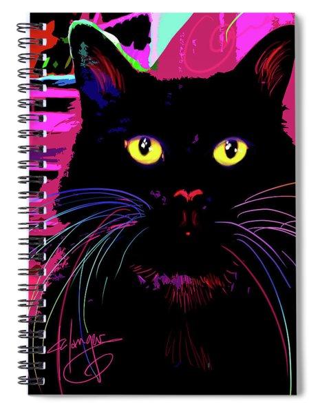 pOpCat Morticia Spiral Notebook