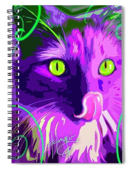 pOpCat Slick Spiral Notebook