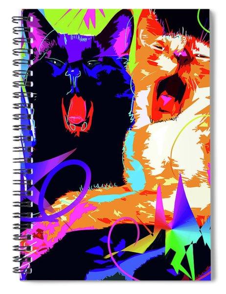 pOpCats Kona and Bo Spiral Notebook
