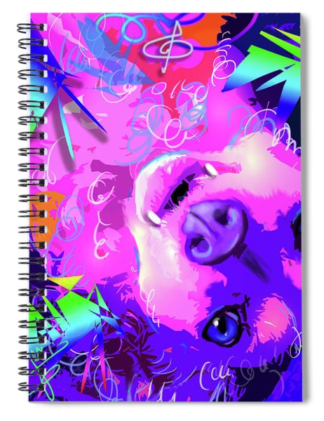 pOpDog Rosa TooLittle Russell Spiral Notebook