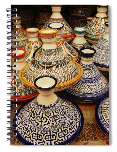 Porcelain Tagine Cookers  Spiral Notebook