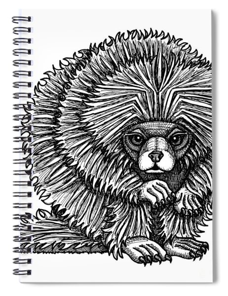 Porcupine Spiral Notebook