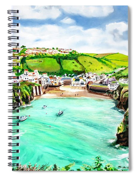 Port Isaac Spiral Notebook