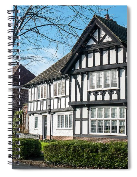 Port Sunlight Tudor Style Spiral Notebook