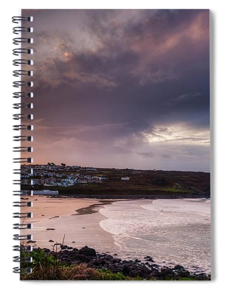 Porthmeor In The Sky Spiral Notebook